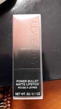 HUDA BEAUTY - Power bullet - Rouge à lèvres