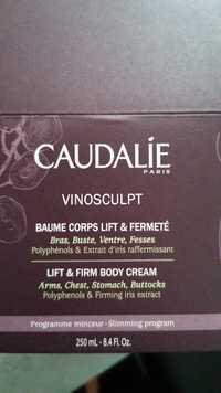 CAUDALIE - Vinosculpt - Baume corps lift & fermeté