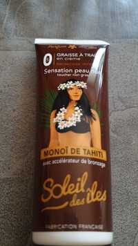 SOLEIL DES ILES - Monoî de Tahiti avec accélérateur de bronzage