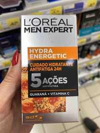L'ORÉAL - Men expert - Cuidado hidratante antifatiga 24h