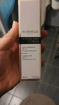 AURIÈGE - Lift CC cream - Soin sublimateur SPF 15