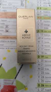 Guerlain - Abbeille royale - Rich day cream firming