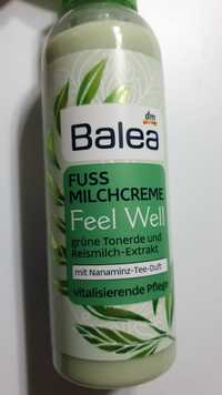 Balea - Fuss milchcreme feel well