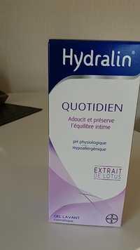 Hydralin - Quotidien extrait de lotus gel lavant intime