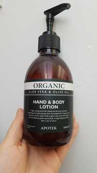 Organic - Apotek Hand & body lotion aloé vera & olive oil