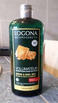 Logona - Shampooing volumateur à la bière et au miel bio