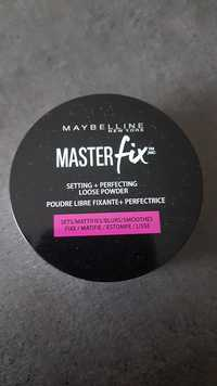 Maybelline - Master fix - Poudre libre fixante et perfectrice