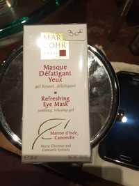 MARY COHR - Masque défatigant yeux