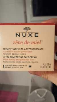 Nuxe - Rêve de miel - Crème visage ultra-réconfortante