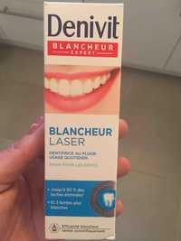 Denivit - Blancheur Laser - Dentifrice au fluor