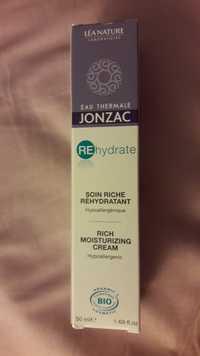 Eau Thermale Jonzac - REhydrate - Soin riche réhydratant