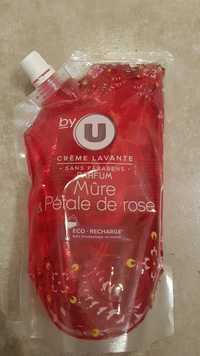 BY U - Mûre & Pétale de rose - Crème lavante