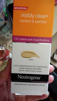 NEUTROGENA - CC Crème anti-imperfections - Claire