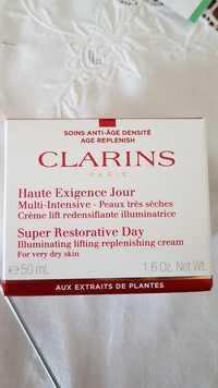 CLARINS - Multi-intensive - Crème haute exigence jour