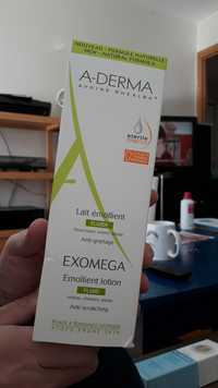 A-Derma - Exomega - Lait émollient fluide anti-grattage