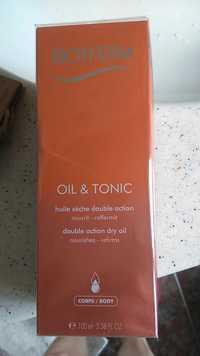 Biotherm - Oil & tonic - Huile sèche double action