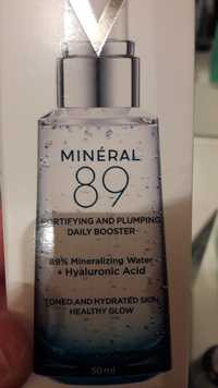 VICHY - Minéral 89 - Fortifying and plumping daily booster