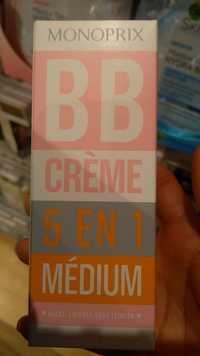 MONOPRIX - BB crème 5 en 1 médium