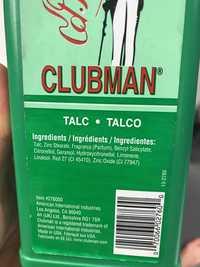 CLUBMAN - Talc