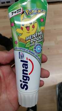 Signal - Pokémon - Dentifrice enfant menthe douce 7ans+