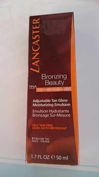 LANCASTER BEAUTY - Bronzing beauty - Emulsion hydratant bronzage sur-mesure 01 blond tan
