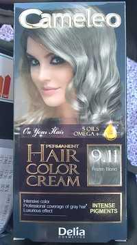 DELIA COSMETICS - Cameleo - Permanent hair color cream 9.11 Frozen blond