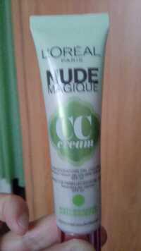 L'ORÉAL PARIS - Nude magique - CC Cream SPF 20