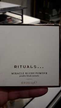 Rituals - Poudre blush miracle