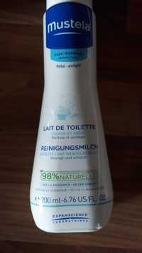 Mustela - Lait de toilette visage et siège