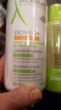A-DERMA - Exomega Control - Crème émolliente anti-grattage