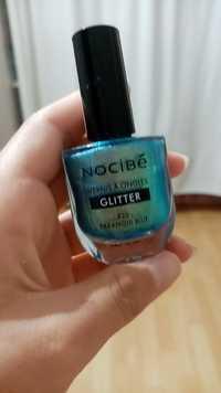 NOCIBÉ - Glitter - Vernis à ongles 820 paranoid blue