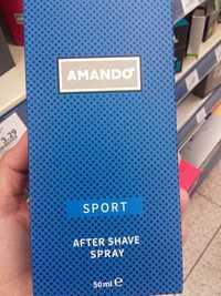 AMANDO - Sport - After shave spray