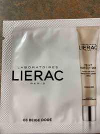 LIÉRAC - 03 Beige doré - Fluide de teint perfecteur lumière SPF 20