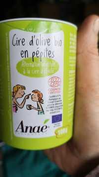 Anaé - Cire d'olive bio en pépites