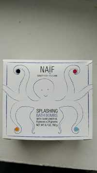 NAÏF - Splashing - Bath bombs