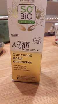 So'Bio étic - Précieux Argan - Concentré éclat anti-tâches