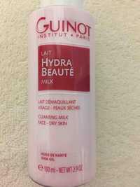 Guinot - Lait hydra beauté milk - Lait démaquillant