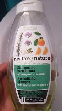 LES COSMÉTIQUES DESIGN PARIS - Nectar of nature - Shampooing normalisant