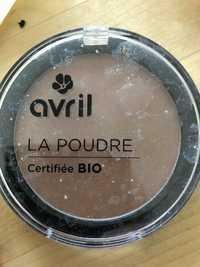 AVRIL - La poudre certifiée bio