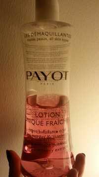 PAYOT - Lotion tonique fraîcheur