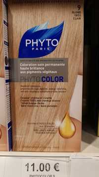 Phyto - Phyto color - Coloration soin permanente blond très clair 9