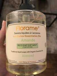 FLORAME - Savons liquides à l'ancienne aux huiles essentielles bio