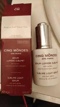 CINQ MONDES - Sérum lumière sublime - Anti-tâches