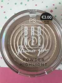 Primark - PS... bronze shimmer glow - Powder highlight