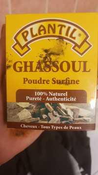 PLANTIL - Ghassoul - Poudre surfine