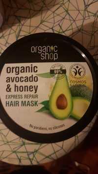 ORGANIC SHOP - Organic avocado & honey - Hair mask