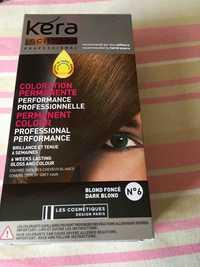 LES COSMÉTIQUES DESIGN PARIS - Kéra science - Coloration permanente blond foncé n°6