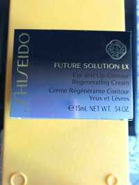 Shiseido - Future solution LX - Crème régénérante contour yeux et lèvres