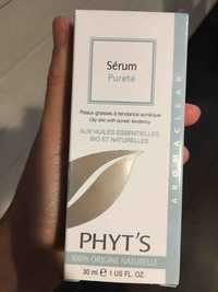 PHYT'S - Sérum pureté aux huiles essentielles bio et naturelles