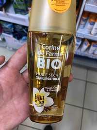 Corine de Farme - Bio huile sèche sublimatrice fleur de tiaré